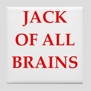 jack of all Tile Coaster
