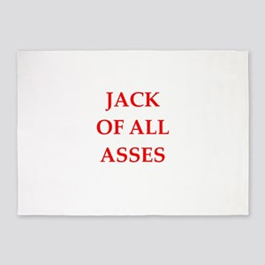 jack of all trades 5'x7'Area Rug