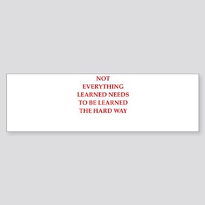 learn Bumper Sticker