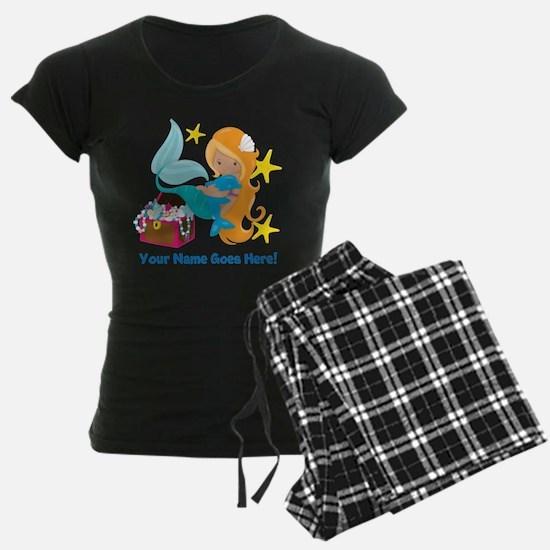 Blond Mermaid Pajamas