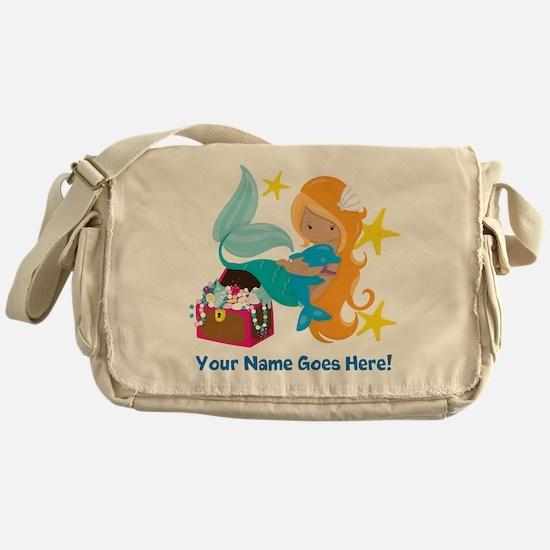 Blond Mermaid Messenger Bag