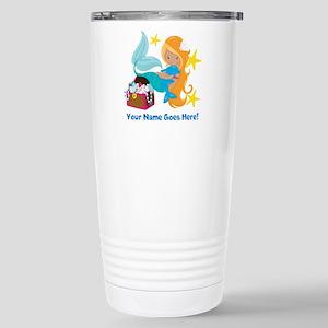 Blond Mermaid Travel Mug