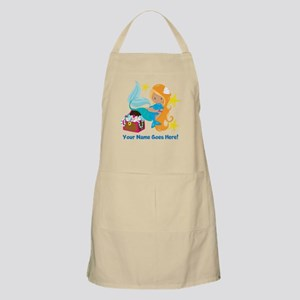 Blond Mermaid Apron