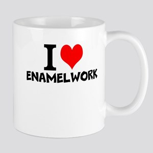 I Love Enamelwork Mugs