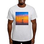 09.on liberty..? Ash Grey T-Shirt