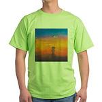 09.on liberty..? Green T-Shirt