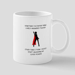 Teaching Superheroine Mug