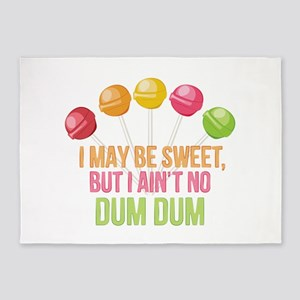 No Dum Dum 5'x7'Area Rug