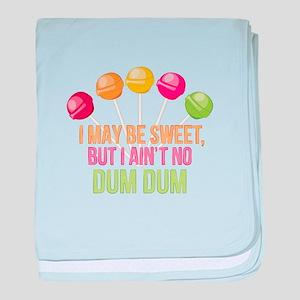 No Dum Dum baby blanket