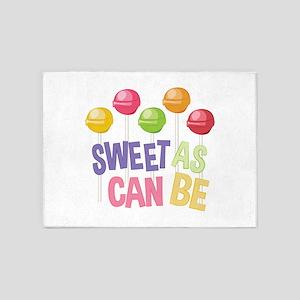 Sweet Sucker 5'x7'Area Rug