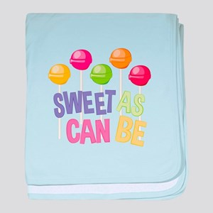 Sweet Sucker baby blanket