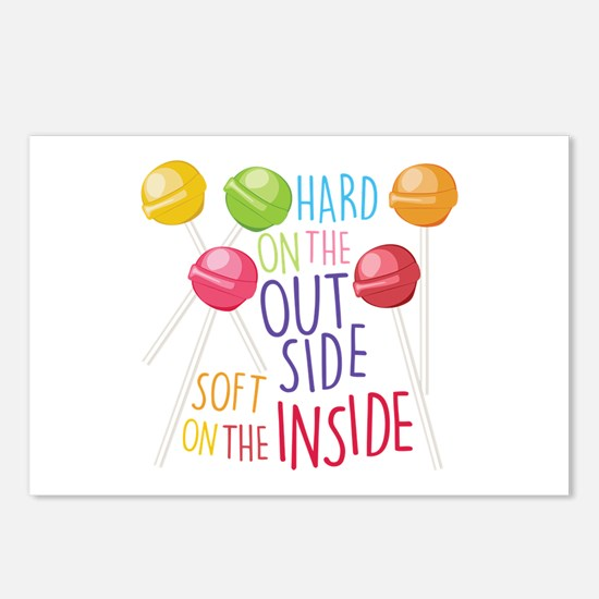 Soft On Inside Postcards (Package of 8)