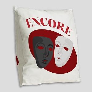 Encore Burlap Throw Pillow
