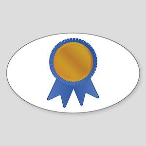 Blue Ribbon Sticker