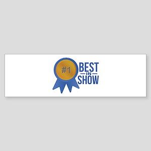 Best In Show Bumper Sticker
