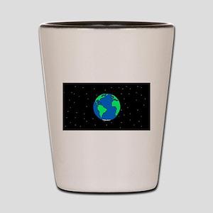 Earth And Stars Shot Glass