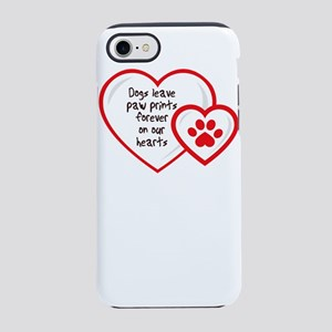dogs leave pa prints forever iPhone 8/7 Tough Case
