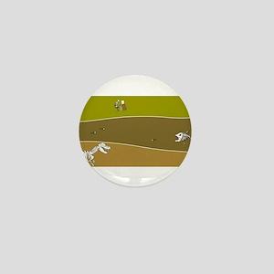 Fossil Layers Mini Button