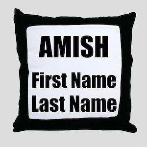 Amish Throw Pillow