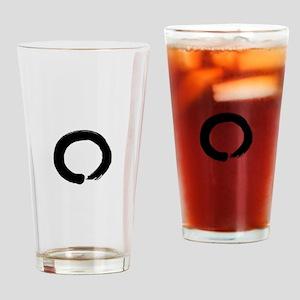 Zen circle Drinking Glass