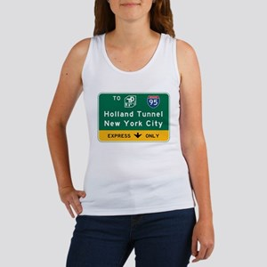 Holland Tunnel-New York City, NJT Women's Tank Top