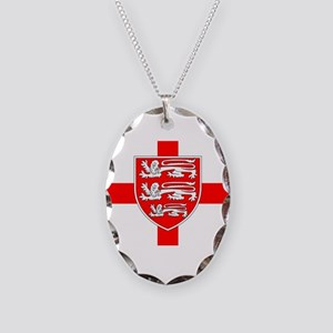 Saint Georges Day Necklace Oval Charm