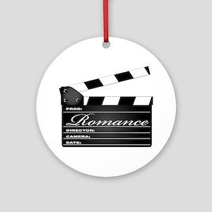 Romance Clipboard Round Ornament