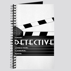 Detective Movie Clapperboard Journal