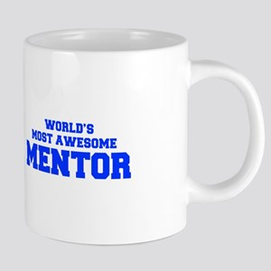 WORLD'S MOST AWESOME Mentor-Fre blue 600 Mugs