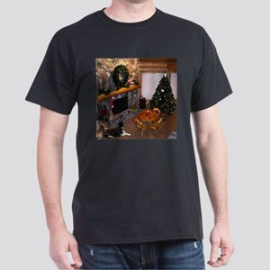 Christmas in Alaska Dark T-Shirt