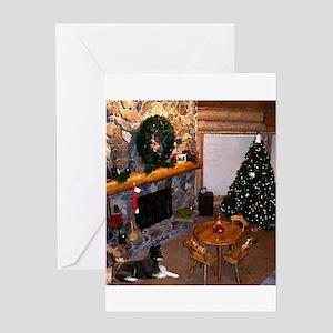 Christmas in Alaska Greeting Card