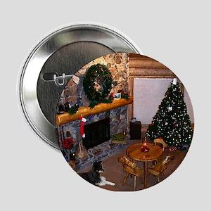 """Christmas in Alaska 2.25"""" Button"""