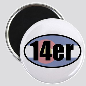 Colorado 14ers Magnets