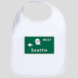 Seattle, WA Road Sign Bib