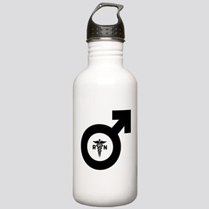 Male Nurse Symbol Stainless Water Bottle 1.0L
