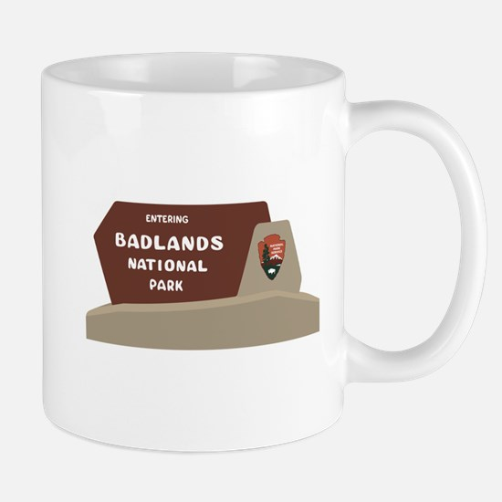Badlands National Park, South Dakota, U Mug
