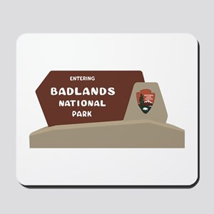 Badlands National Park, South Dakota, US Mousepad