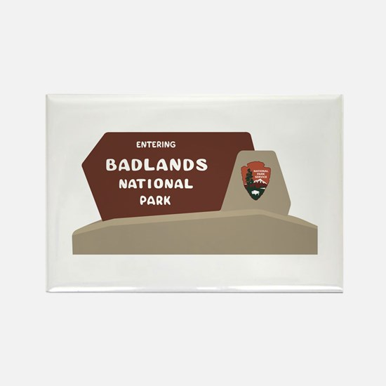 Badlands National Park, Rectangle Magnet (10 pack)