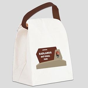 Badlands National Park, South Dak Canvas Lunch Bag