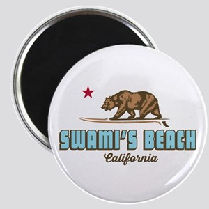 Swami's Beach. Magnet Magnets