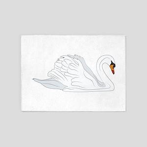 Swan 5'x7'Area Rug