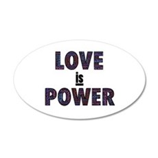 Love IS Power Wall Decal