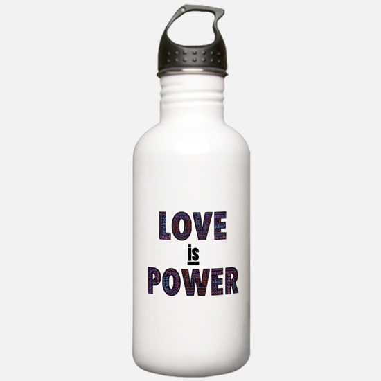Love IS Power Water Bottle