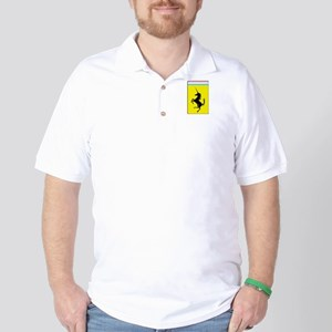 Trans Pride Prancing Unicorn Golf Shirt