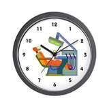 Dental dentist Wall Clocks