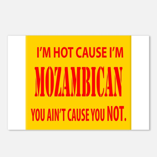 Hot Mozambican Postcards (Package of 8)