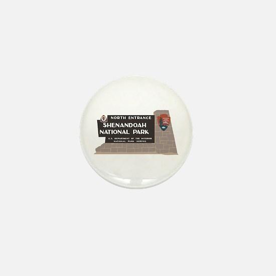 Shenandoah National Park, Virginia Mini Button