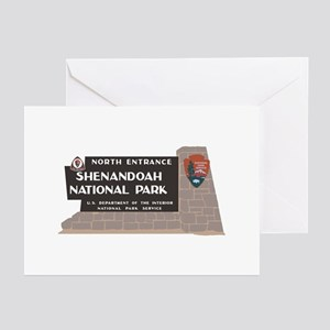 Shenandoah National Park Greeting Cards (Pk of 10)