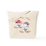 Tea Cupcake Tote Bag