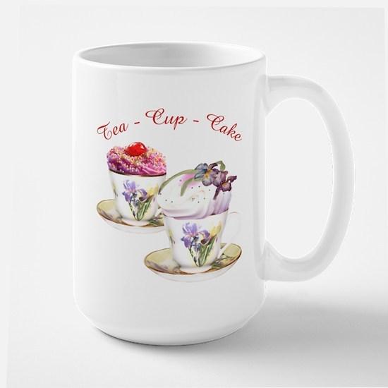 Tea Cupcake Mugs